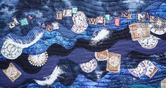 Carol Marshall   Time and Tide (detail), 2015