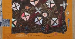 Helen Geglio | Lost Art of Mending (detail)